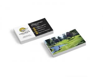Chilliwack Golf Club Business Cards
