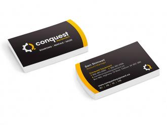 Conquest Business Cards
