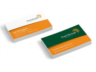 Dutch Heritage Business Cards