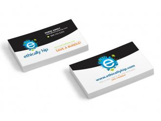 Ethically Hip Business Cards
