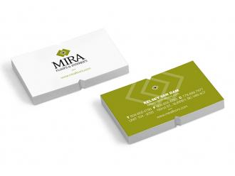 Mira Floors Business Cards