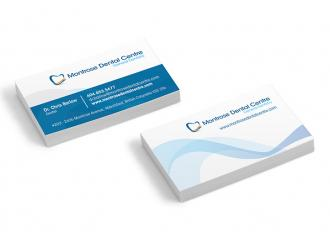 Montrose Dental Business Cards