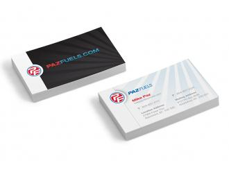 Paz Fuels Business Cards