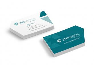 Stat Medical Business Cards