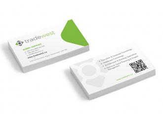 Tradewest Business Cards
