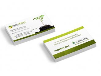 Yardworks Business Cards