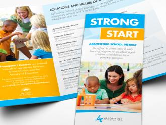 Strong Start Trifold Brochure