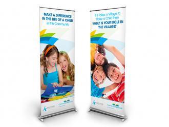 Community In Schools Popup Banners