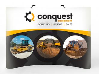 Conquest Tradeshow Booth