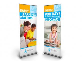 Early Learning Popup Banners