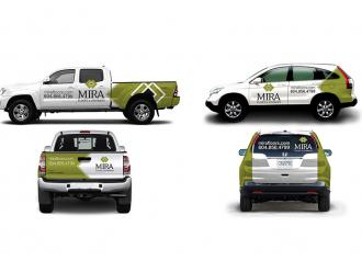 Mira Floors Vehicle Wraps