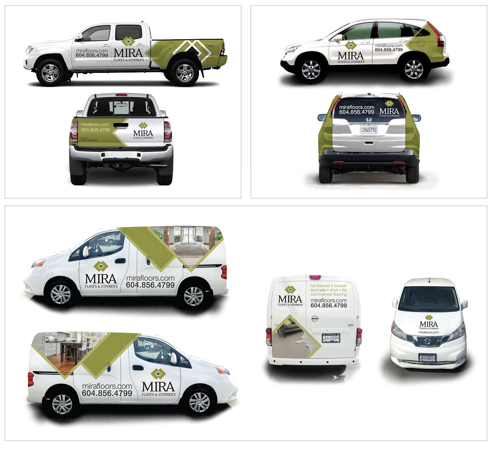 Vehicle Wraps - Mira Floors