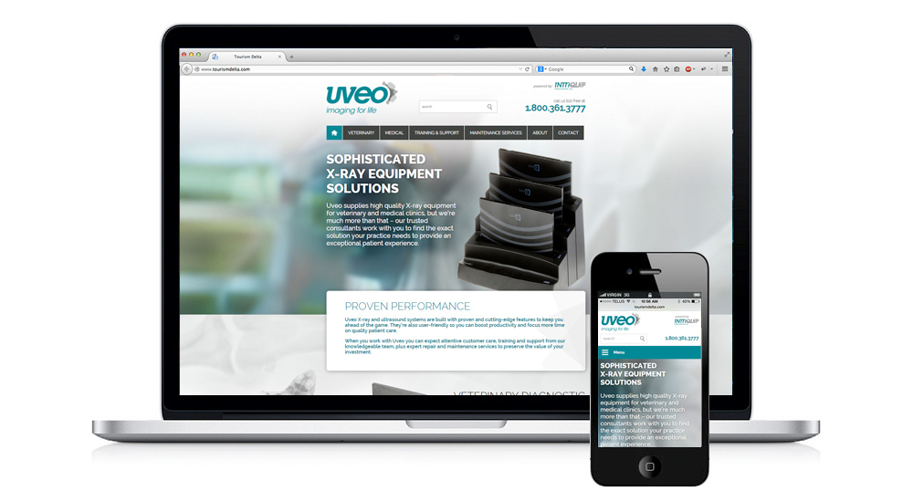 Website Design - Uveo Medical